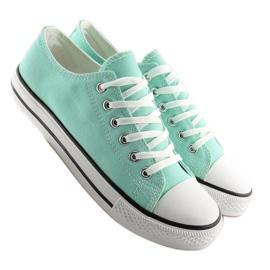 Grön Klassiska damskor Sneakers XL03 L.GREEN