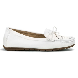 SHELOVET vit Casual loafers