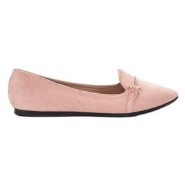 SHELOVET rosa Ballerina i Spitz