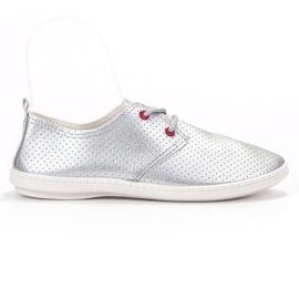 SHELOVET grå Silver sneakers