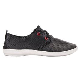 SHELOVET Svarta Sneakers