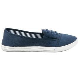 Balada blå Slip-on Sneakers