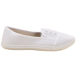 Balada vit Slip-on Sneakers