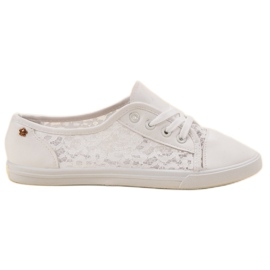 Renda vit Sneakers With Lace