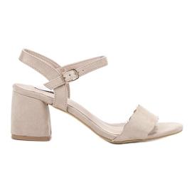 Brun Suede Sandals VICES