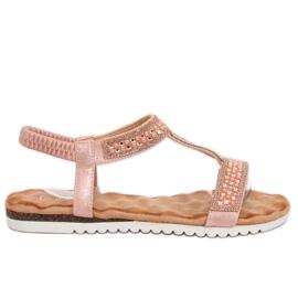 Kvinnors sandaler Rosa HT-67 Pink