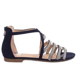 Sandaler kvinnors marinblå LL6339 Blå