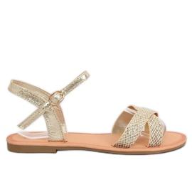 Kvinnors sandaler och guld WL282 Gold