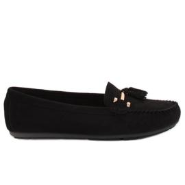 Loafers svart L7183 Svart