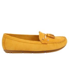 Gul Loafers yellow L7183 Yellow