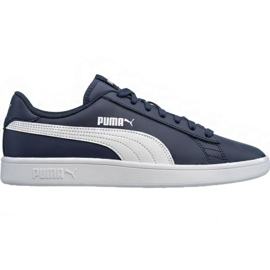 Skor Puma Smash v2 LM 365215 05 marinblå