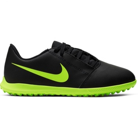 Fotbollskor Nike Phantom Venom Club Tf Jr AO0400 007 svart