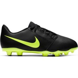 Nike Phantom Venom Club Fg Jr AO0396 007 fotbollskor svart