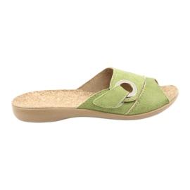 Befado kvinnors skor pu 265D008 grön