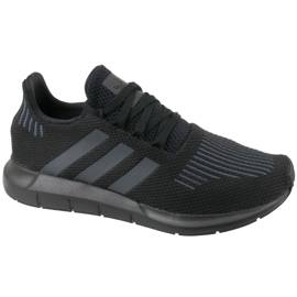 Svart Adidas Swift Run Jr CM7919 skor