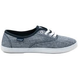 Blå Textil Sneakers VICES