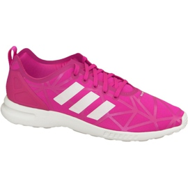 Rosa Adidas Zx Flux Adv Smooth W Shoes S79502