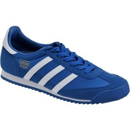 Blå Adidas Dragon Og Jr BB2486 skor