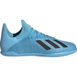 Fotbollsskor adidas X 19.3 I Jr F35354 blå