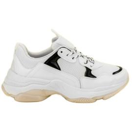 Small Swan vit Casual Sneakers