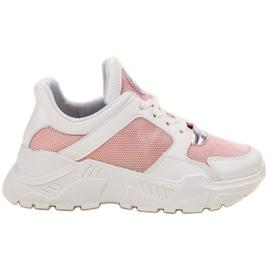 GUAPISSIMA vit Fashionabla sneakers