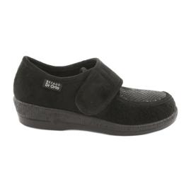 Svart Befado kvinnors skor pu 984D012