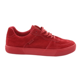 Big Star röd Red Star Big Sneakers 174364