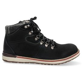 Isolerade skor med höga stövlar SH23 Svart