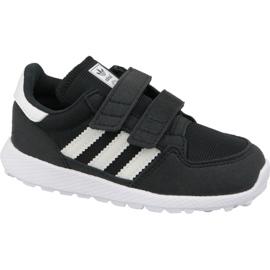 Svart Adidas Originals Forest Grove Cf Jr B37749 skor