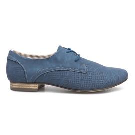 Blå skor Simone Jazzówki