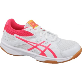 Volleybollskor Asics Upcourt 3 Gs Jr 1074A005-104 vit vit