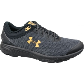 Grå Under Armour Charged Escape 3 M 3021949-005 löparskor