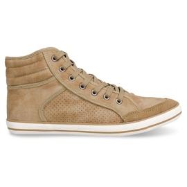 Brun 501 Camel High Boxer Sneakers