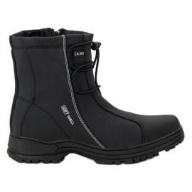 Ax Boxing Svarta Snow Boots