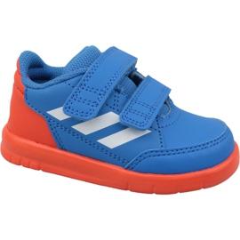 Blå Adidas AltaSport Cf I D96842 skor