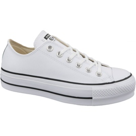Vit Converse Chuck Taylor All Star Lift Clean Ox W 561680C