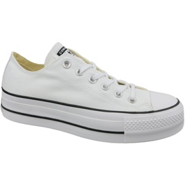 Vit Converse Chuck Taylor All Star Lift W 560251C skor