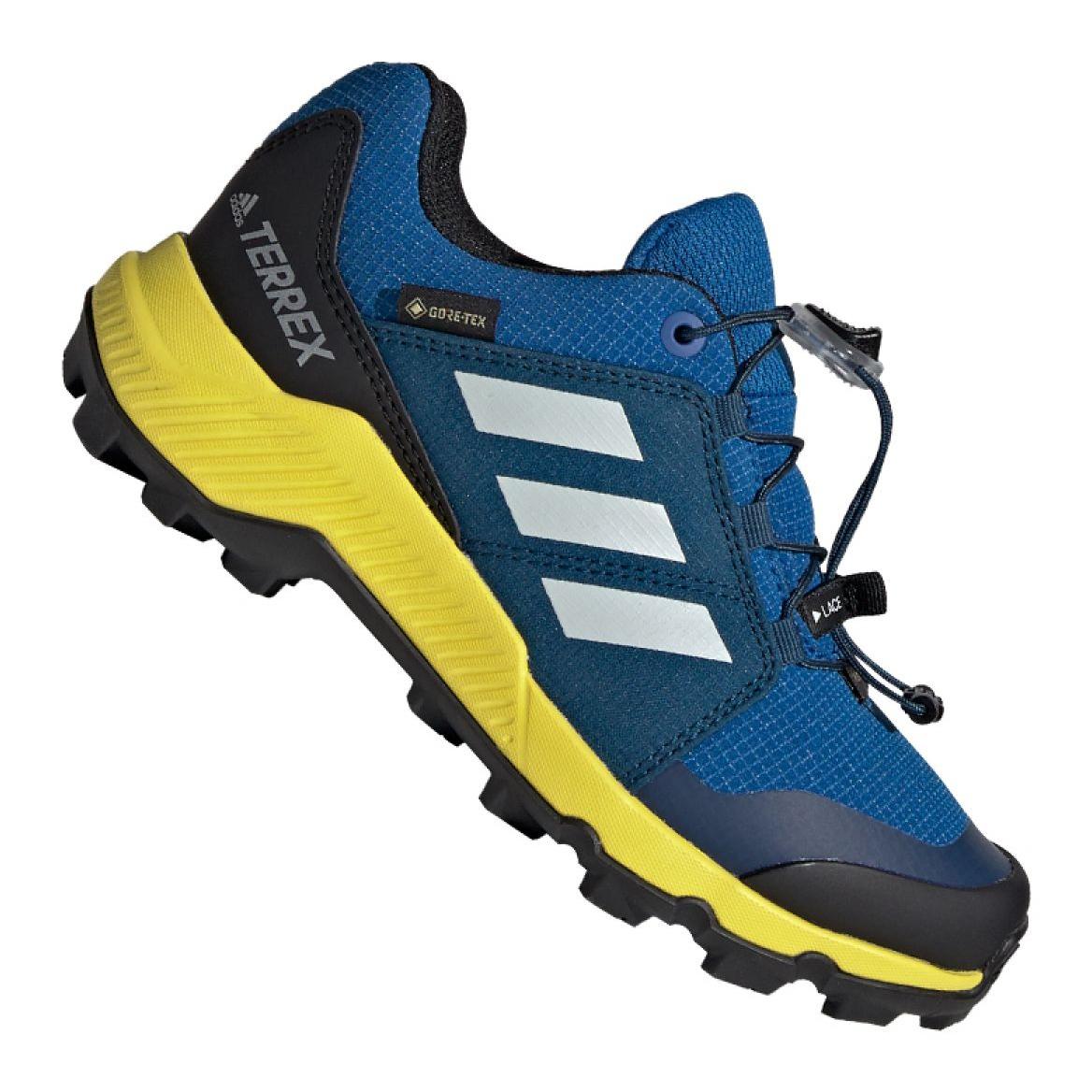 Adidas Terrex Gtx Jr BC0599 skor blå