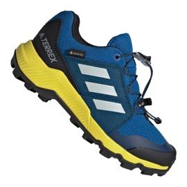 Blå Adidas Terrex Gtx Jr BC0599 skor