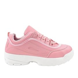 Rosa sportskor sneakers GL808