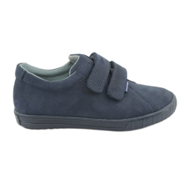 Pojkeskor Velcro Mazurek 268 marinblå