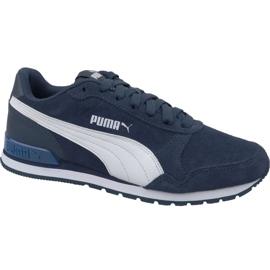 Marinblå Puma St Runner V2 Sd M 365279-10 skor