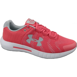 Under Armour röd Under Armor Micro G Pursuit Bp W 3021969-600 löparskor