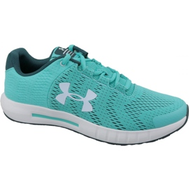 Blå Under Armour Pursuit Bp Jr 3022092-300 löparskor