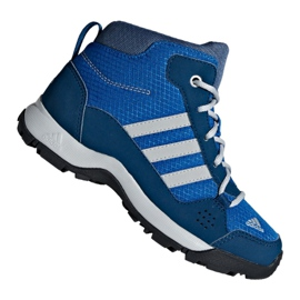 Blå Adidas Hyperhiker K Jr G27790 skor