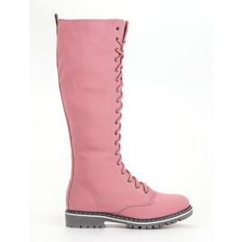 Seastar rosa Lace-up Women Boots