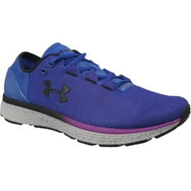Blå Under Armour Charged Bandit 3 W löparskor 1298664-907