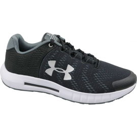 Svart Under Armour Pursuit Bp Jr 3022092-001 löparskor