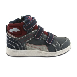American Club ES27 höga sneakers marinblå