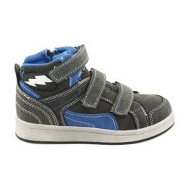 American Club ES27 grå höga sneakers